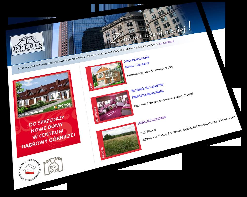 projektowanie stron internetowych dla nieruchomości